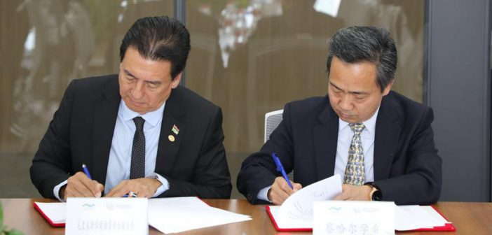 MoU between The Charhar Institute and the Chinese Business Chamber