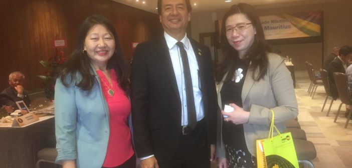 Taiwanese Delegation visiting South Africa and Mauritius